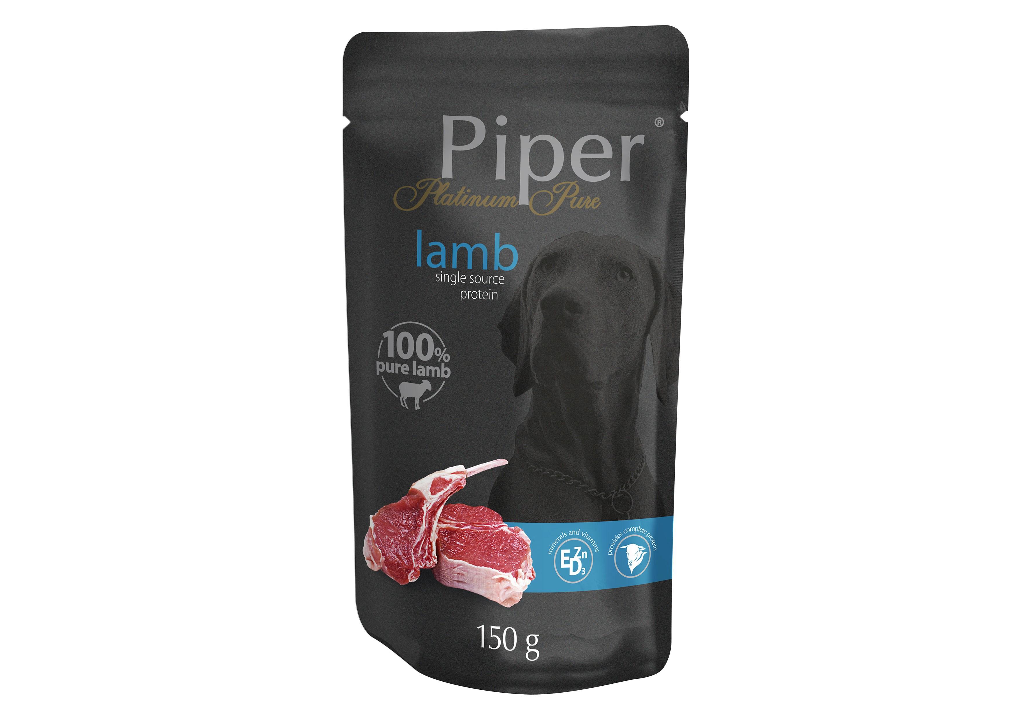 Piper Platinum Pure 150g_saszetka_LAMB
