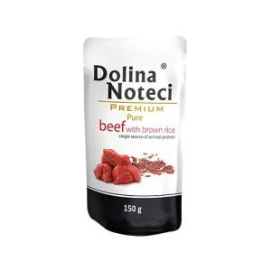 dolina-noteci-premium-pure-taistoit-pruuni-riisi-ja-veiselihaga-taiskasvanud-koertele-150-g